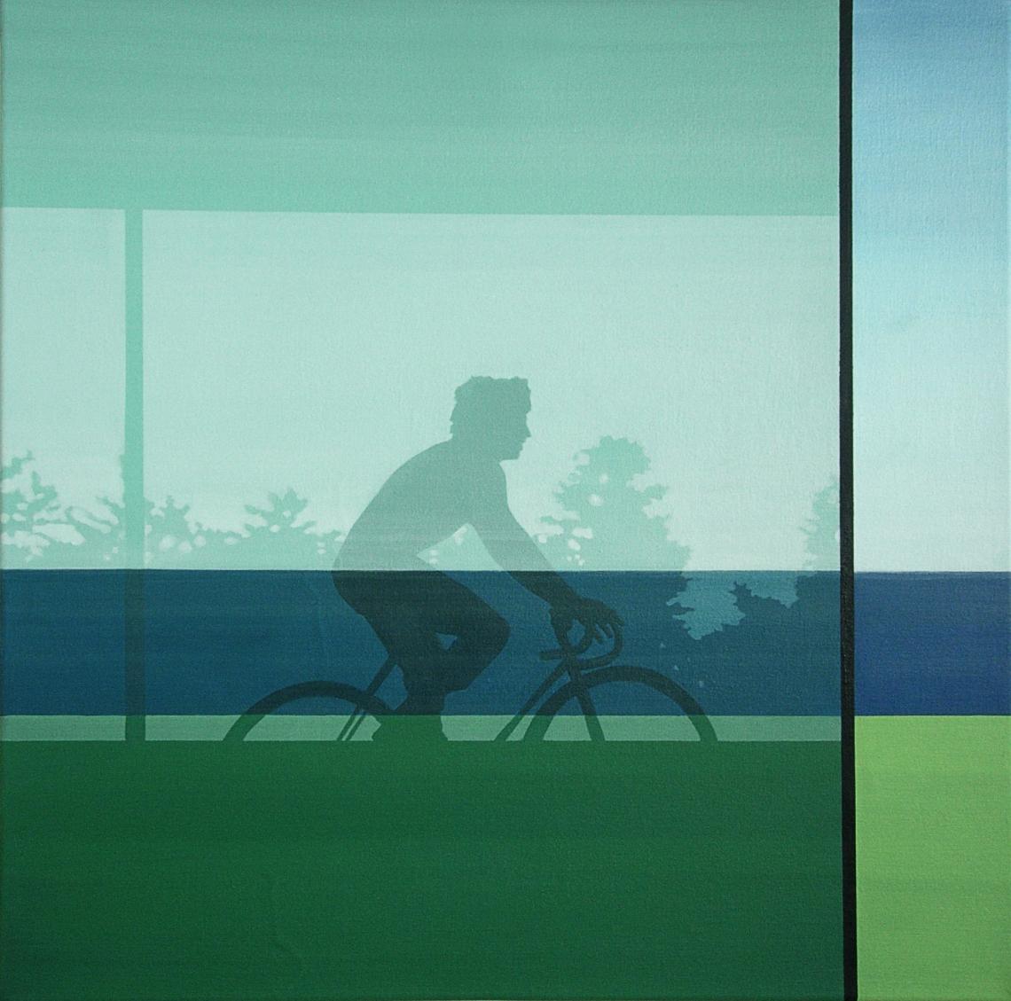 2013-006-자전거 남자 실루엣